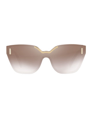 Image 2 of 2: Two-Tone Butterfly Sunglasses