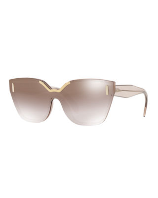 Image 1 of 2: Two-Tone Butterfly Sunglasses
