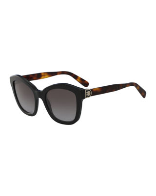 Gancio Geo Cat-Eye Sunglasses