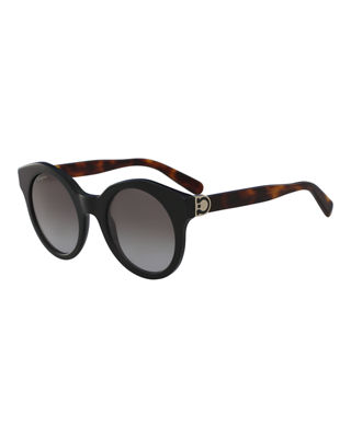 Salvatore Ferragamo Gancio Cat-Eye Sunglasses