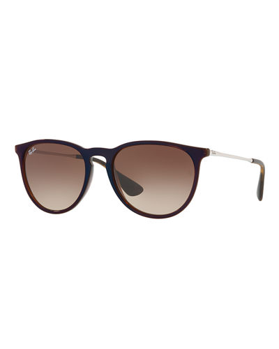 Gradient Keyhole Nose Bridge Sunglasses