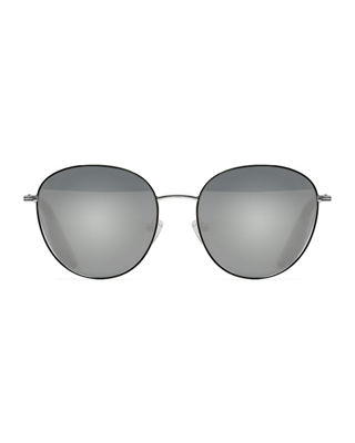 Image 2 of 3: Gilmour Oval Sunglasses w/ Stone Neck Strap