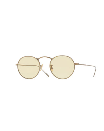 M-4 30th Anniversary Mirrored Round Sunglasses