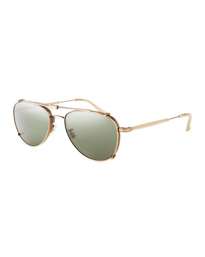 Linnie Aviator Sunglasses