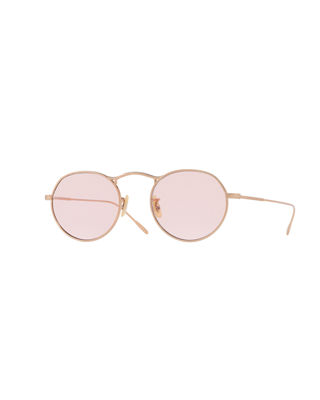 Oliver Peoples M-4 30th Round Metal Sunglasses