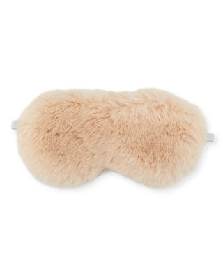 Fabulous Furs Faux-Fur Eye Mask on Gifting Card