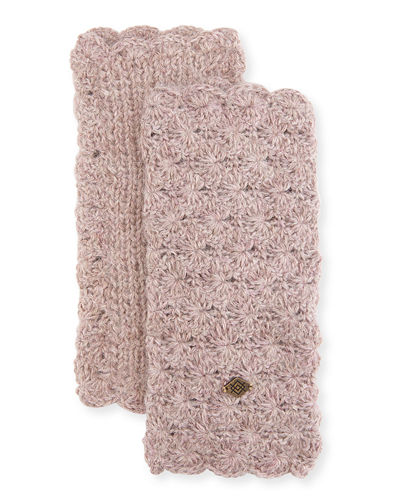 Emilime Star Crochet Fingerless Gloves