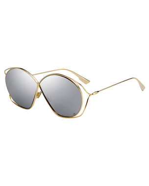 7d383b5df50 Dior DiorStellaire 2 Round Cutout Sunglasses