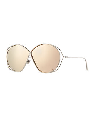 Image 1 of 3: DiorStellaire 2 Round Cutout Sunglasses