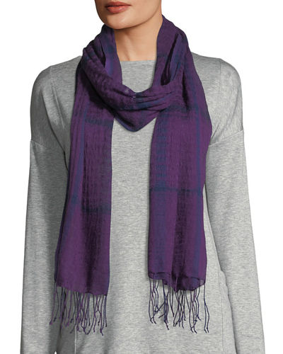 Eileen Fisher Airy Linen/Cashmere Scarf and Matching Items