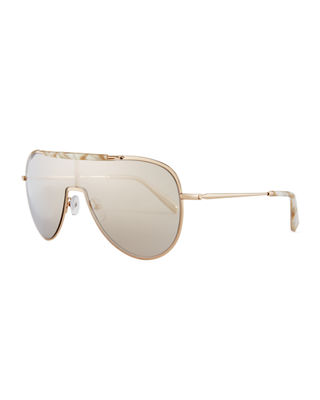 Kendall + Kylie Layla Shield Sunglasses