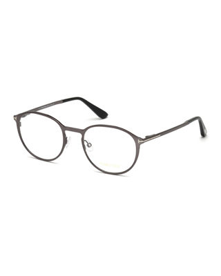 Ophthalmic Round Optical Frames w/ Magnetic Sun Lenses