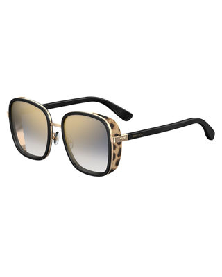 Andiens sunglasses - Metallic Jimmy Choo Eyewear