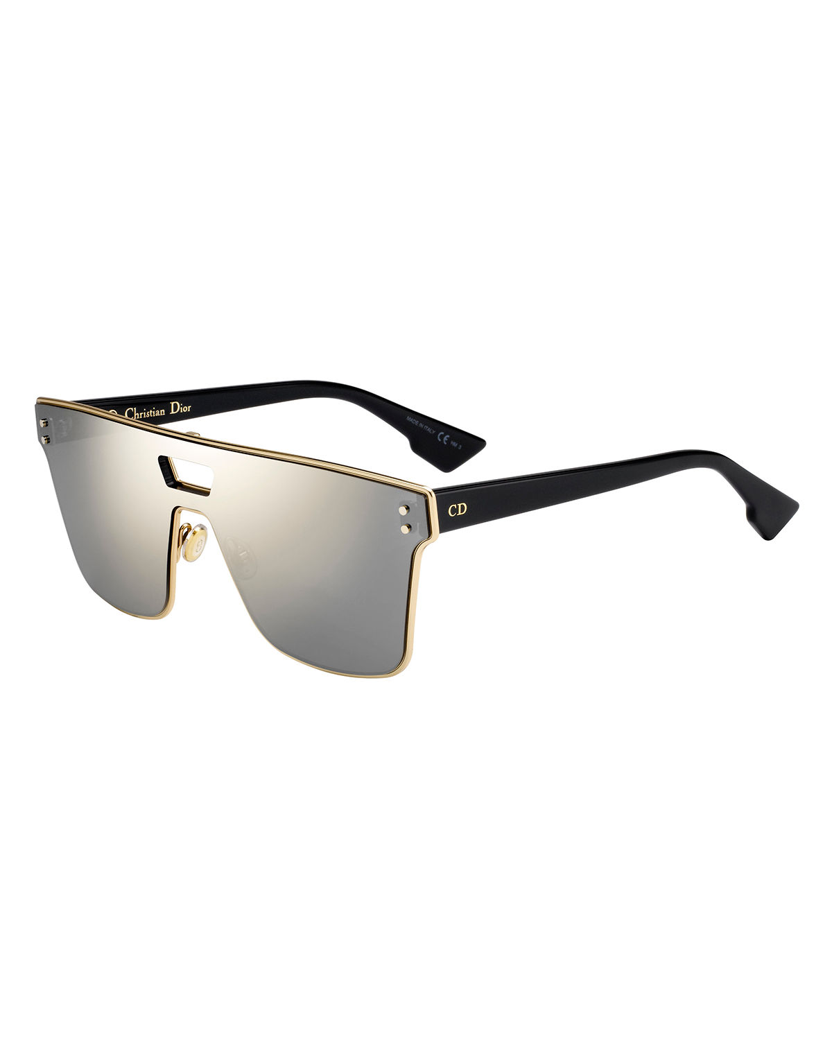 c9770479b7 Dior Diorizon Mirrored Shield Sunglasses