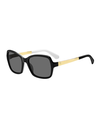 annjanette square sunglasses