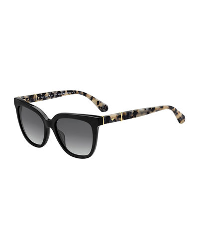 kahli two-tone acetate sunglasses