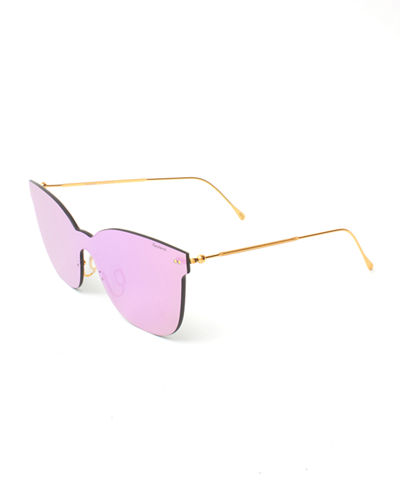 Piazza Mask Mirrored Sunglasses