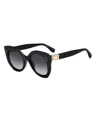 Fendi Acetate Cat-Eye Sunglasses