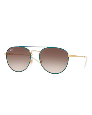 Ray-Ban Gradient Square Sunglasses