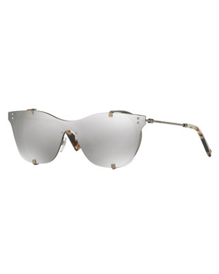 Square Side-Blinder Sunglasses