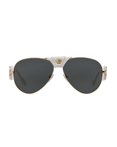 Medusa Aviator Sunglasses