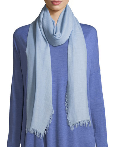 Eileen Fisher Wool-Silk Ombre Scarf and Matching Items