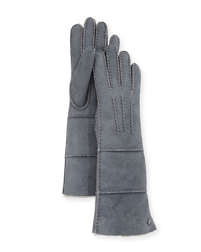 UGG Long Pieced Sheepskin Gloves