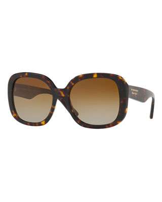 Burberry Square Acetate Sunglasses