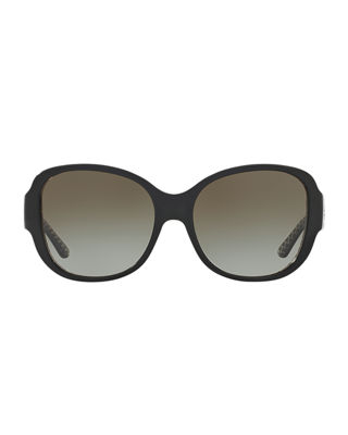 Image 2 of 2: Gradient Square Sunglasses