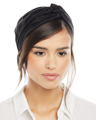 Jennifer Behr Ingrid Silk Turban Headband