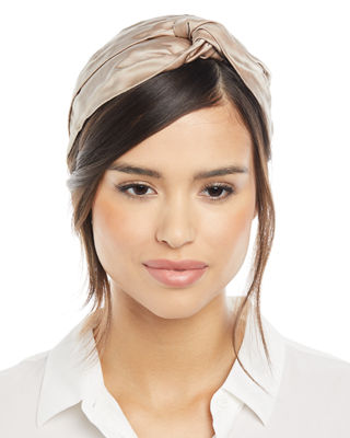 Jennifer Behr Ingrid Silk Turban Headband NoGqybgwBU