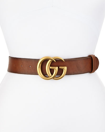 2407107618ae Quick Look. Gucci · Leather Logo-Buckle Belt