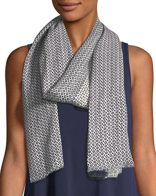 Printed Organic Cotton Medley Scarf