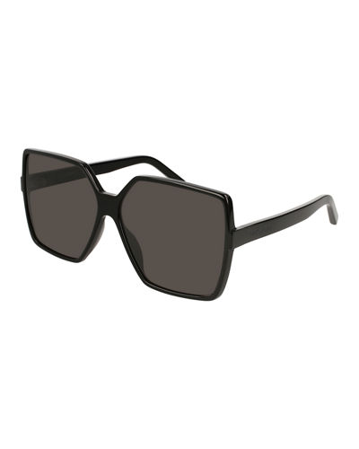 SL 232 Betty Oversized Square Gradient Sunglasses