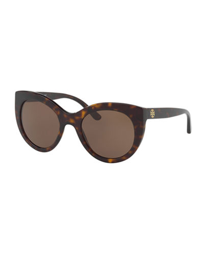 Tory Burch Acetate Cat-Eye Sunglasses