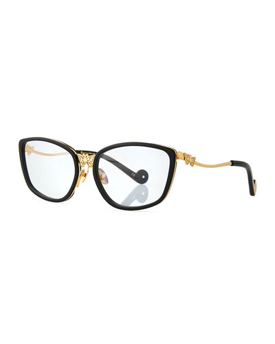 Mon Papillon Optical Frames w/ 3D Butterfly Detail