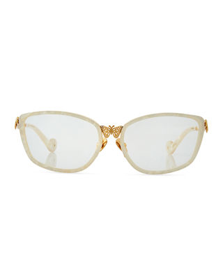Image 2 of 3: Mon Papillon Optical Frames w/ 3D Butterfly Detail