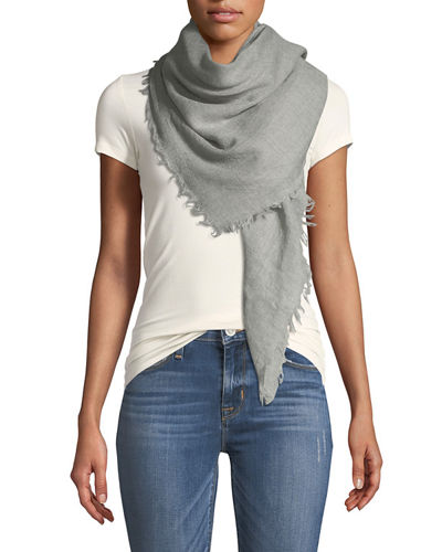Solid Virgin Wool Scarf