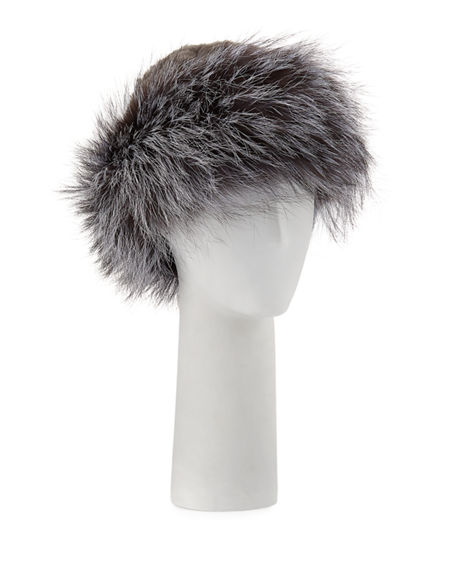 Surell KNITTED FUR HAT