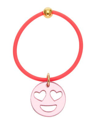 COLETTE MALOUF REFLECTIVE MOJI PONYTAIL HOLDER