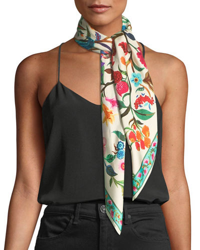 Tree of Life Silk Scarf