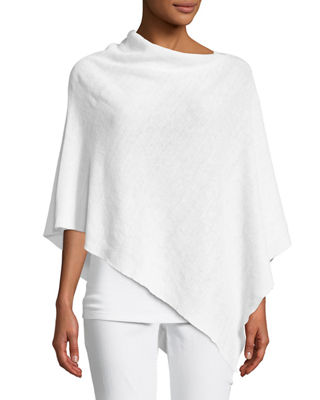 Eileen Fisher Linen Knit Poncho