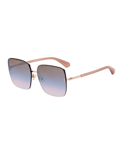 janays square acetate sunglasses