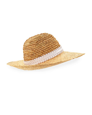 Santiago Packable Straw Sun Hat