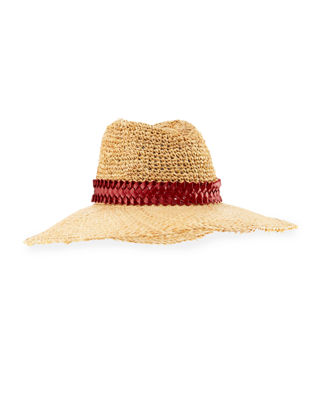 Gigi Burris Santiago Packable Straw Sun Hat