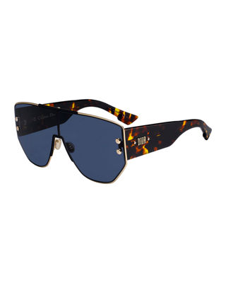 Addict1 Mirrored Shield Sunglasses