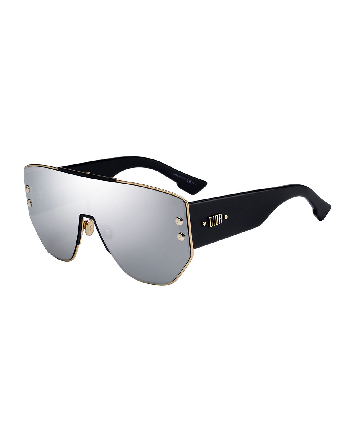 e6b351b9e78a Dior Addict1 Mirrored Shield Sunglasses