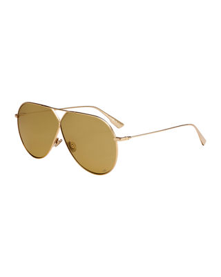 Stell3 Mirrored Aviator Sunglasses