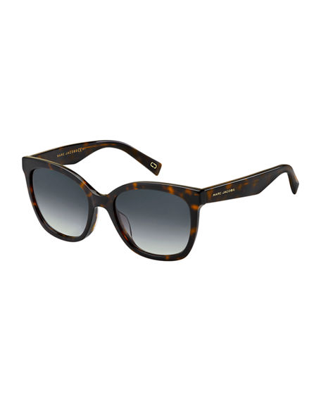 The Marc Jacobs Round Mirrored Acetate Sunglasses