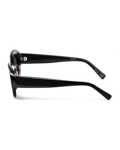 Fray Round Acetate Sunglasses